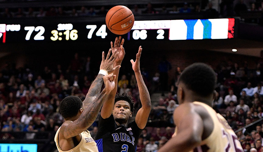 Cam Reddish Hits Game-winning 3-pointer; No. 1 Duke Wins At No. 13 Florida State