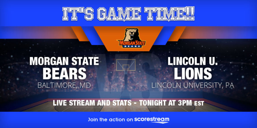 Lincoln Pa. at Morgan State team Matchup