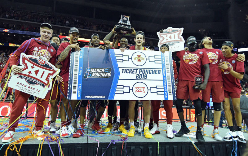 Iowa State Rolls Past Kansas To Win Big 12 Tournament
