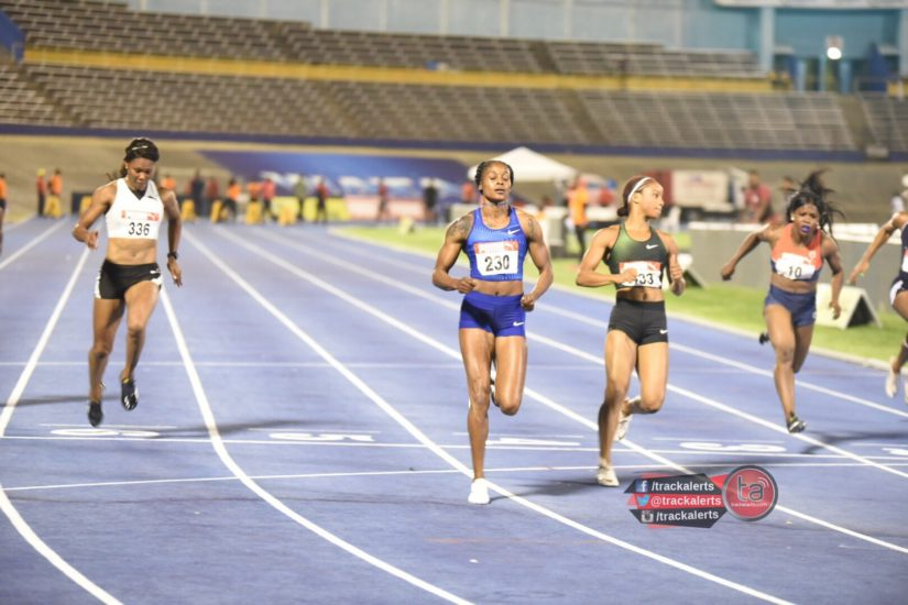 Elaine Thompson at Trials 2019