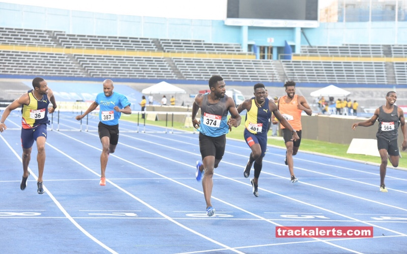 Javarn Gallimore men's 400m hurdles at Jamaica Trials