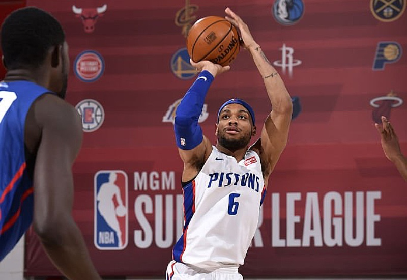Bruce Brown Notches Summer League Triple-Double In Pistons' Win