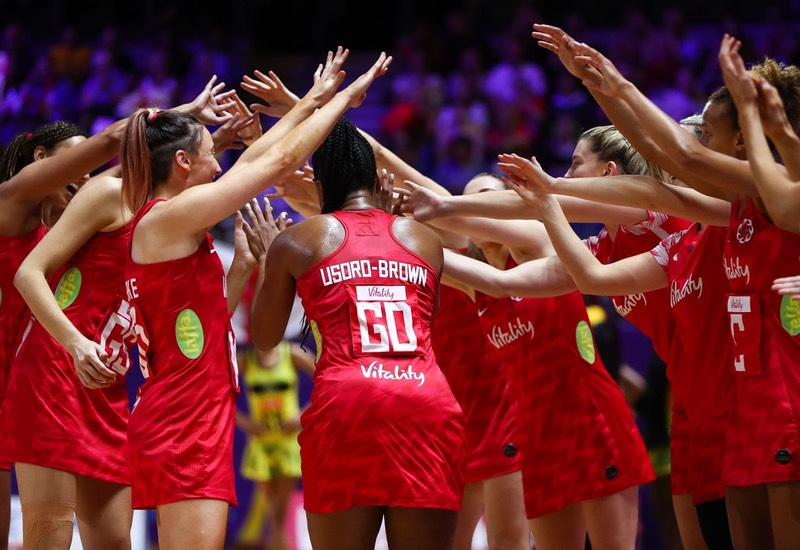 England Hand Jamaica Back-to-Back Defeats: Vitality Netball World Cup Groups