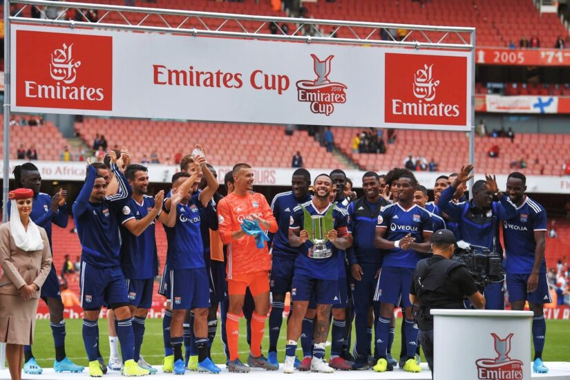 Lyon beat Arsenal in 2019 Emirates Cup