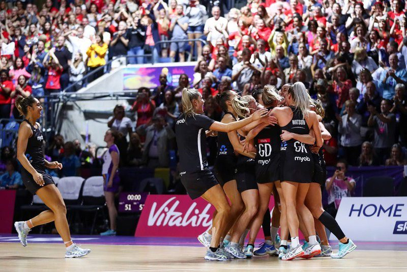 New Zealand Dethrone Australia To Win Vitality Netball World Cup 2019