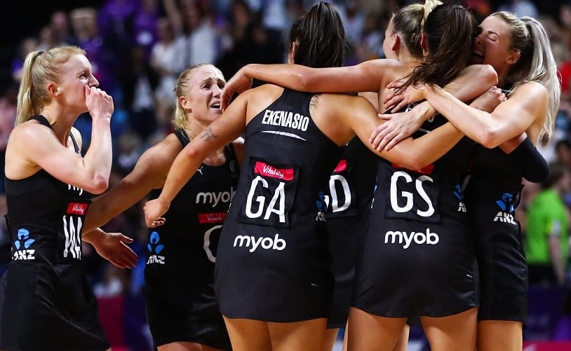 Vitality Netball World Cup 2019 - Team New Zealand
