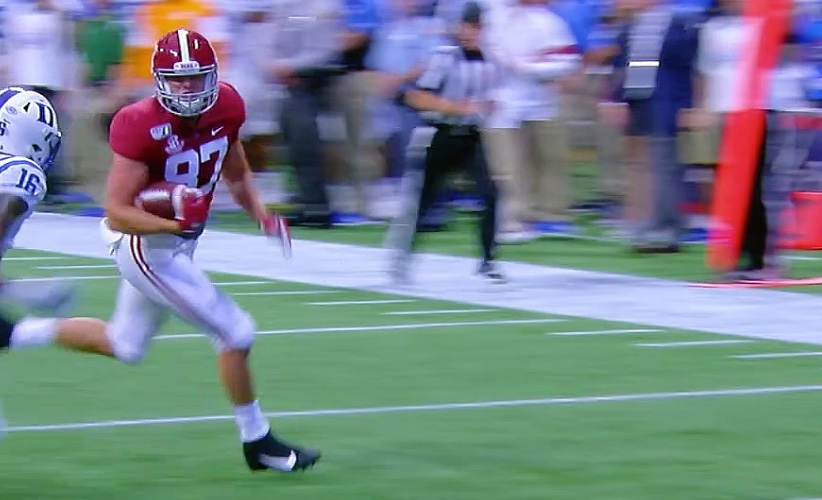 No. 2 Alabama Rolls Over Duke, 42-3 In Opener