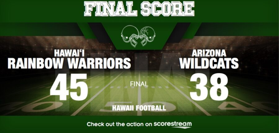 Hawaii v Arizona College Football