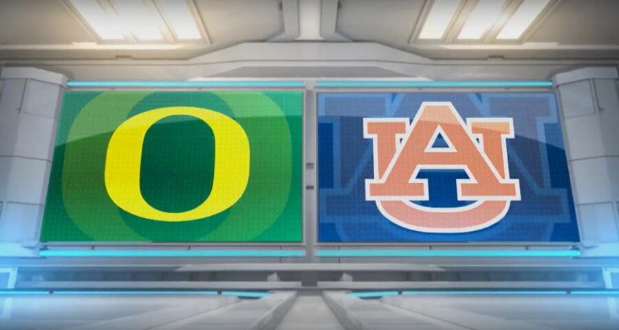 Oregon v Auburn college football streaming