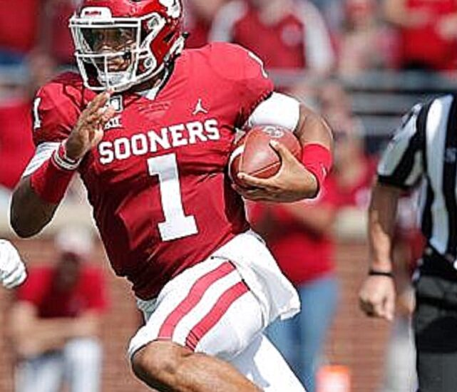 Jalen Hurts for Oklahoma Sooners