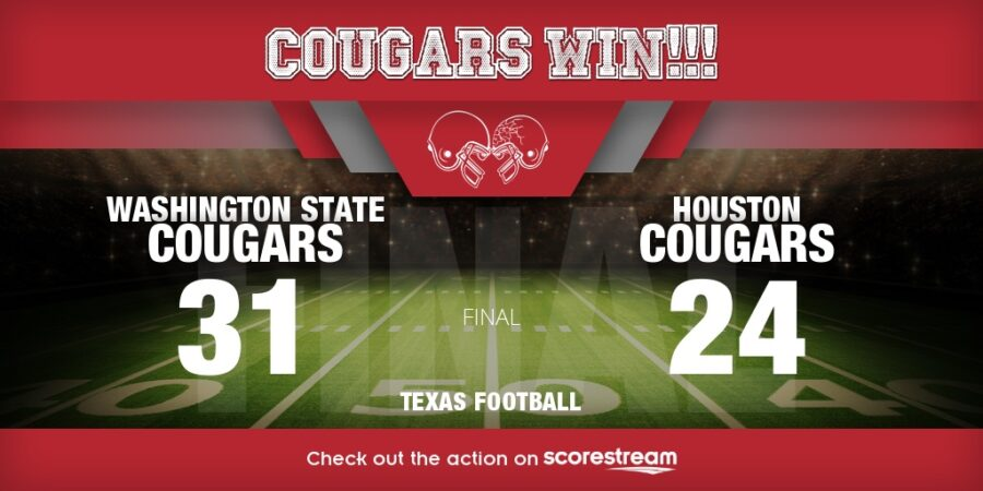 Washington State vs Houston scores week 3