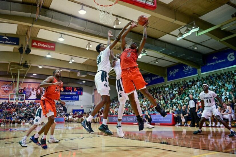 Virginia Tech Upsets No. 3 Michigan State In Maui