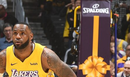LeBron James of LA Lakers