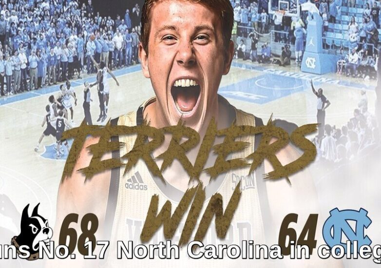 Wofford Stuns No. 17 North Carolina