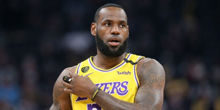 LeBron James LA Lakers