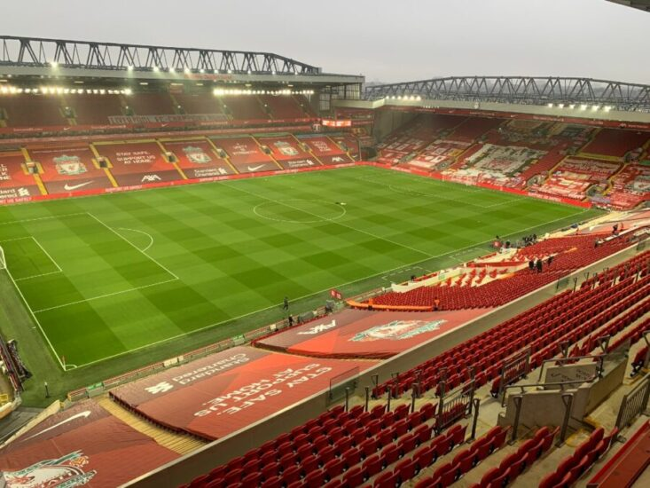 Premier League Fixtures Liverpool FC Anfield Stadium