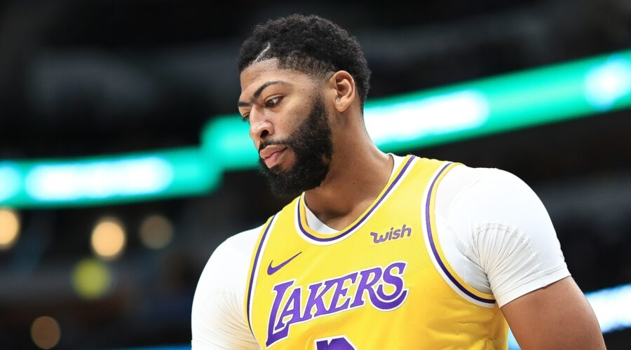 Anthony Davis of LA Lakers