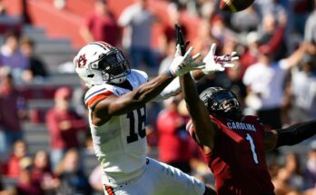 Auburn v South Carolina College Football Today