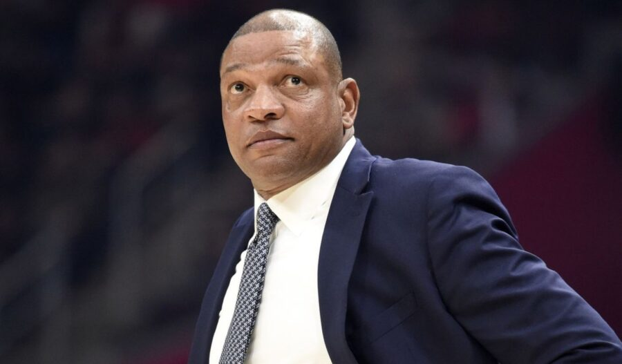 NBA coach Doc Rivers