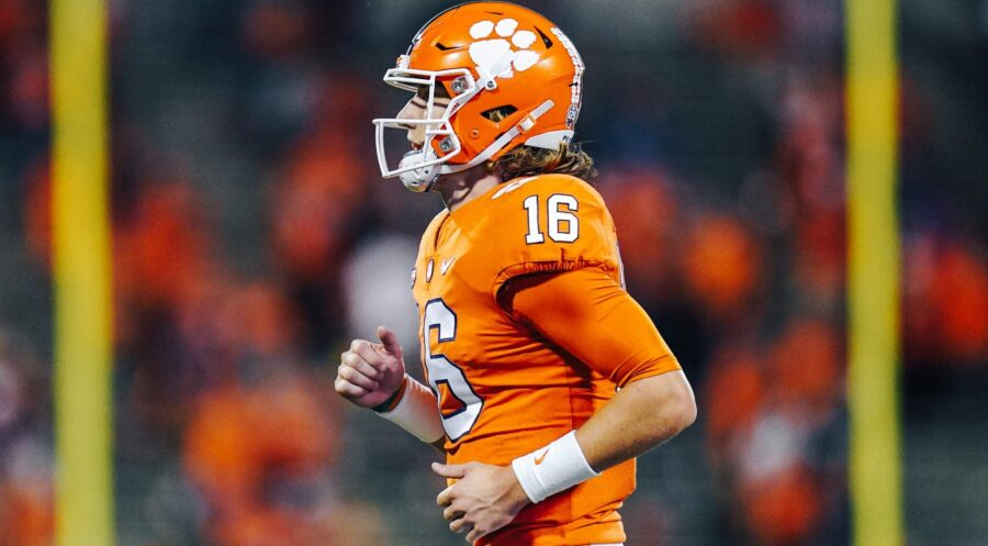 Trevor Lawrence of Clemson Football Today