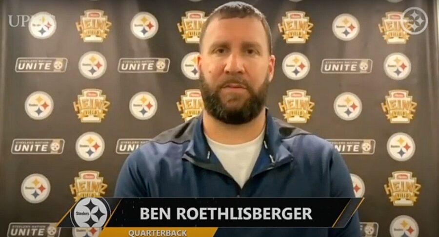 Ben Roethlisberger of the Pittsburgh Steelers