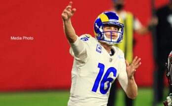 Jared Goff of the Los Angeles Rams