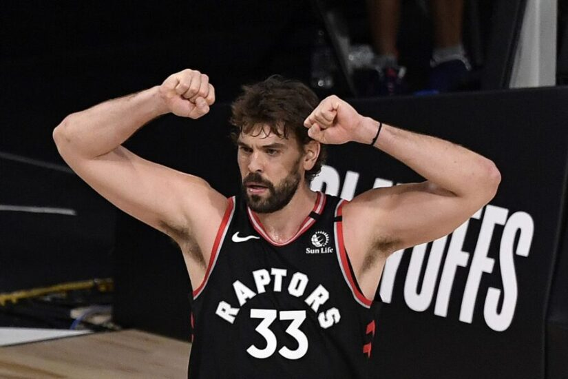 Marc Gasol of Toronto Raptors
