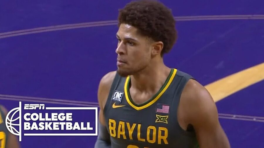 Baylor Bears vs Kansas State College Basketball Highlights