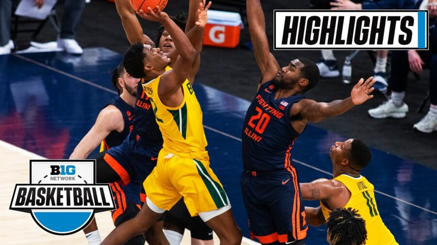 Baylor Bears vs Illinois Fighting Illini Jimmy V Classic