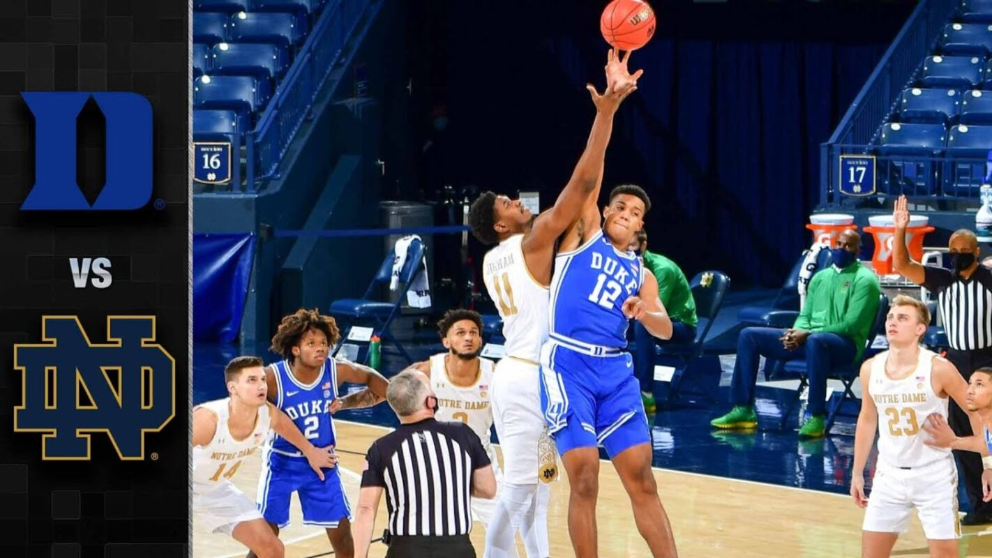 Duke Blue Devils vs. Notre Dame Basketball Highlights