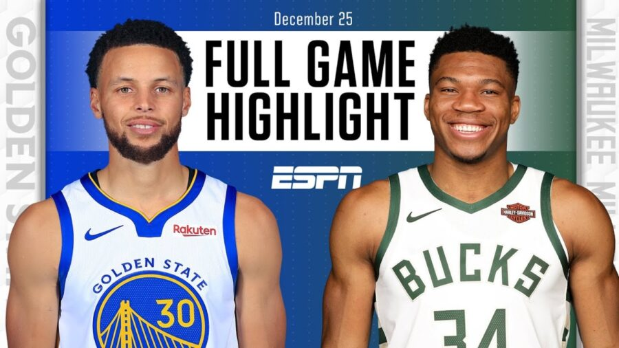 Golden State Warriors vs Milwaukee Bucks - Full Highlights