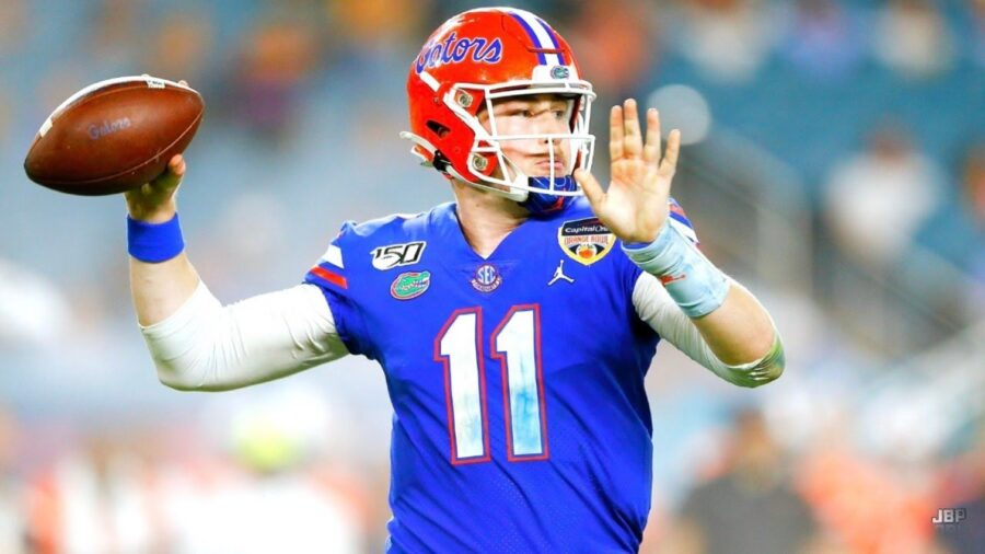 Kyle Trask of Florida Gators three interceptions in Cotton Bowl