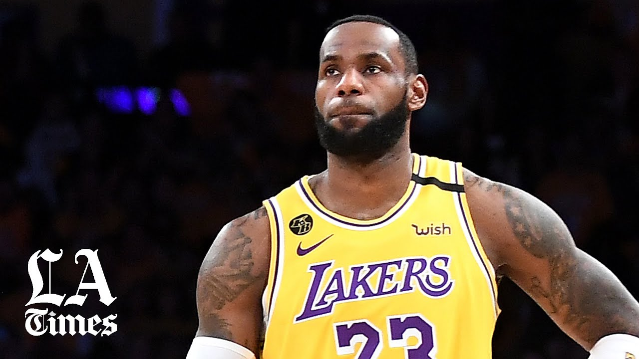 LeBron James of Los Angeles Lakers