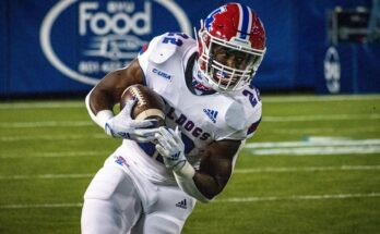 Louisiana Tech's running back Israel Tucker
