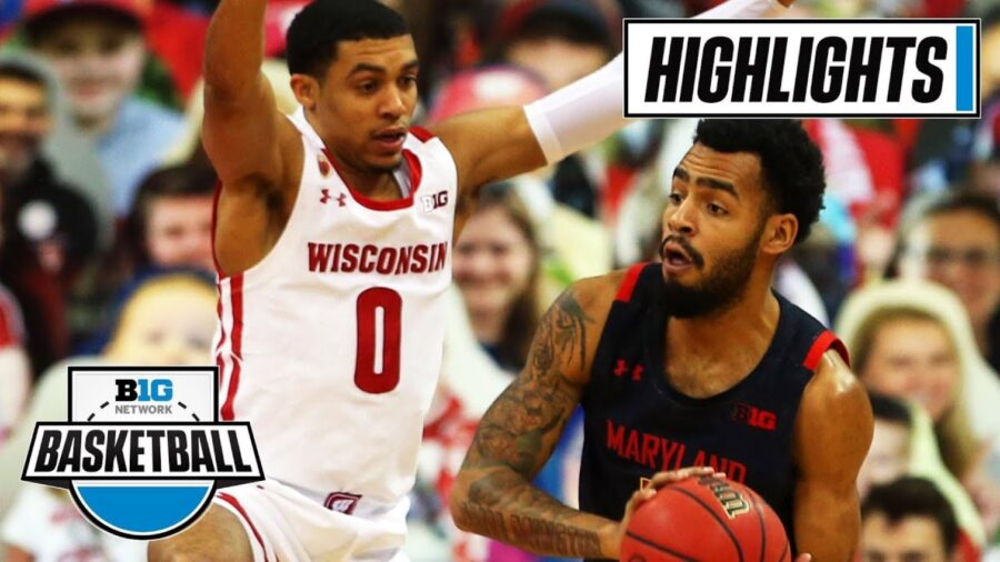 Maryland beats Wisconsin highlights and box score