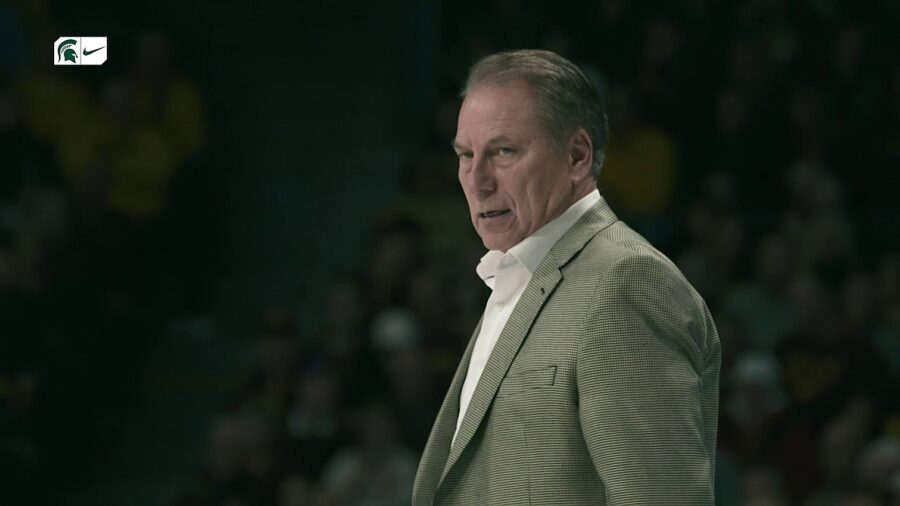 Michigan State Spartans basketball coach Tom Izzo