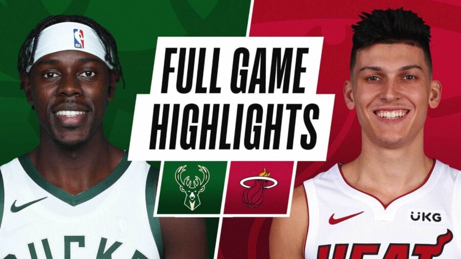 Watch Milwaukee Bucks vs Miami Heat video highlights