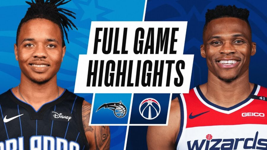 Orlando Magic vs Washington Wizards - Full Game Highlights, Box Score