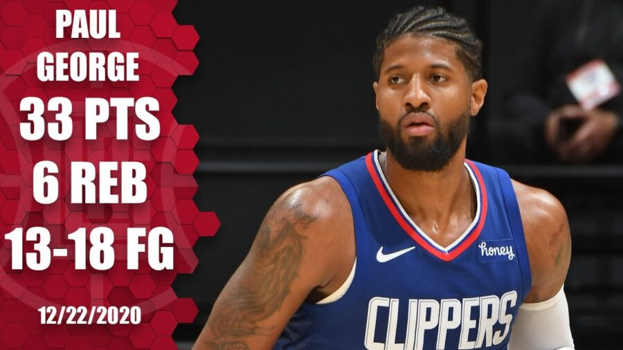 Paul George Clippers v Lakers Highlights