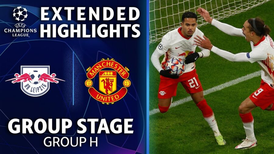RB Leipzig vs. Manchester United Highlights