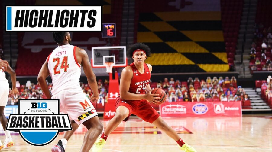 Rutgers at Maryland Highlights