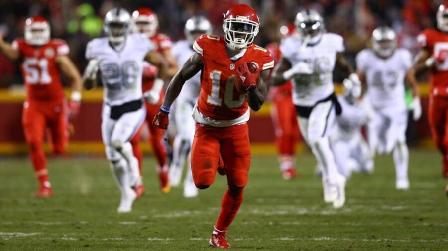 Tyreek-Hill-Kansas-City-Chief-Hamstring-Injury