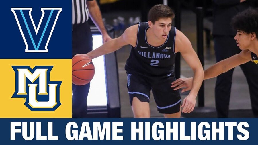 Villanova beat Marquette college basketball highlights