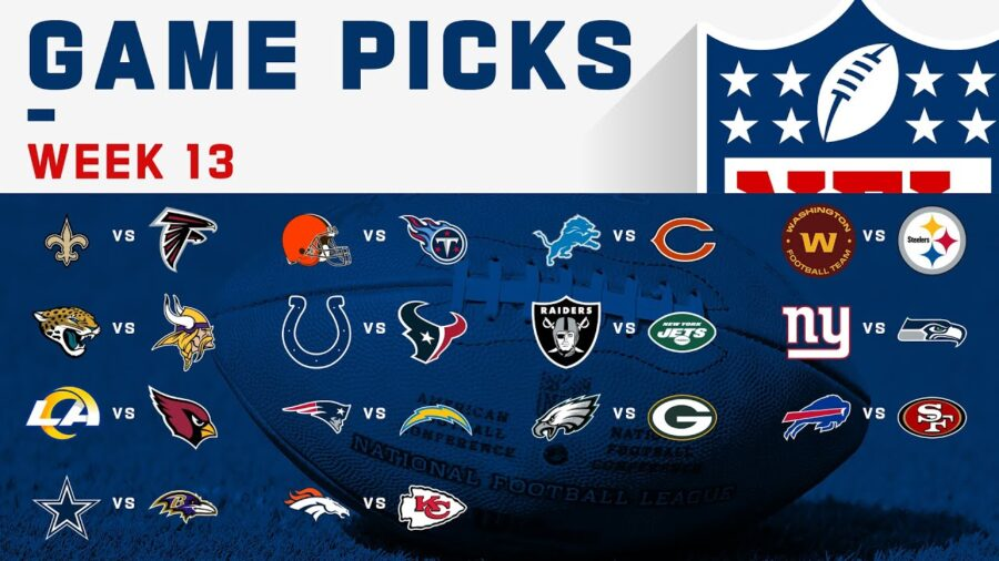 NFL Week 13 Schedule and TV Channels Stream For Game