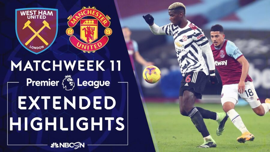 Match Report and Free Highlights: Manchester United Beat West Ham 3-1
