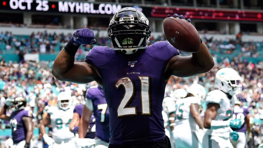 Baltimore Ravens RB Mark Ingram