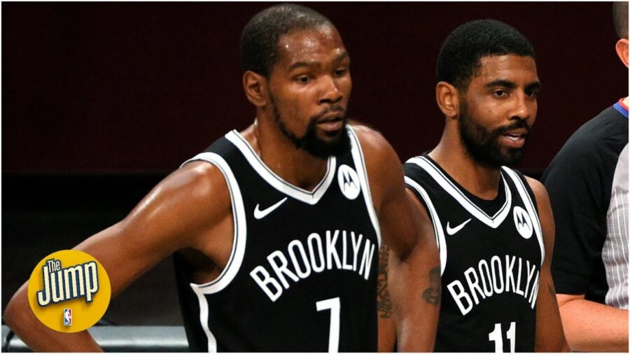 Brooklyn Nets Kevin Durant & Kyrie Irving