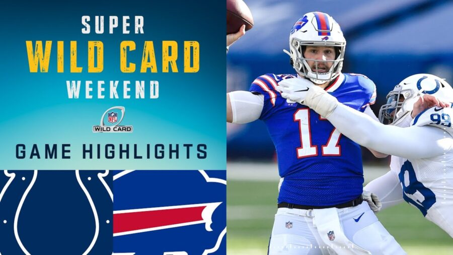 Buffalo Bills vs Indianapolis Colts Highlights AFC Wild Card