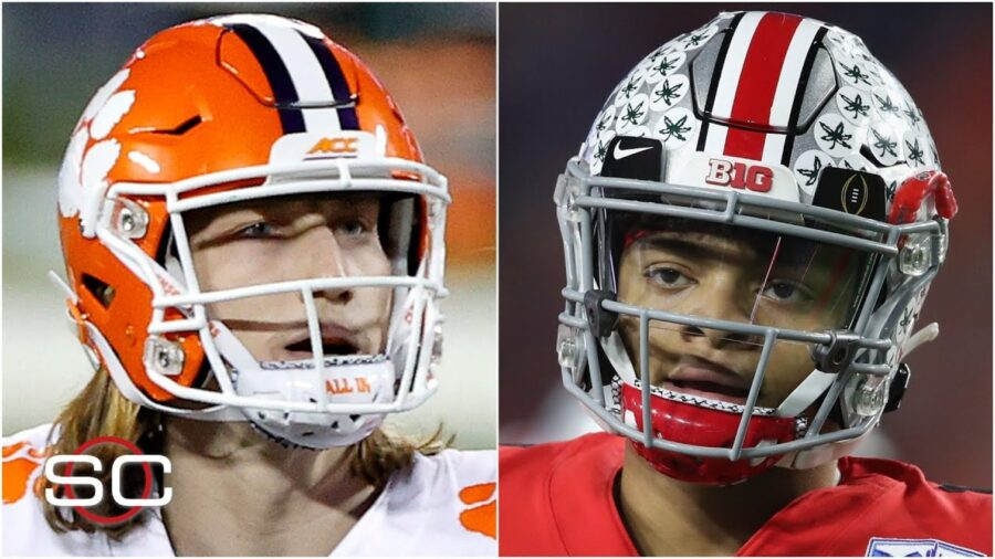 Clemson vs. Ohio State - Trevor Lawrence vs. Justin Fields