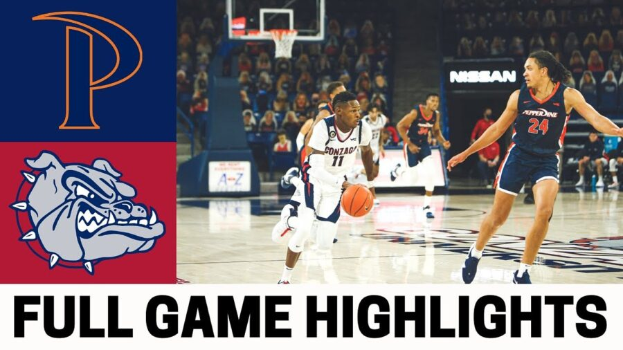 Gonzaga-Bulldogs-vs-Pepperdine-Waves-Highlights